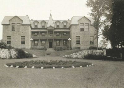 Early 1940s scene, courtesy of the Catherine (McGillis) Brownell estate
