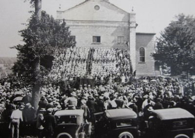 "Bishop Alexander Macdonell ""National Historic Person"" Unveiling Ceremony at Saint Raphael's, June 15, 1930"
