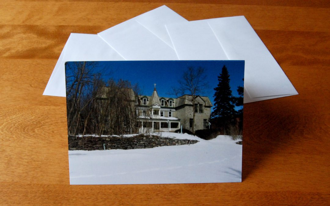 Get your Bishop's House greeting cards!