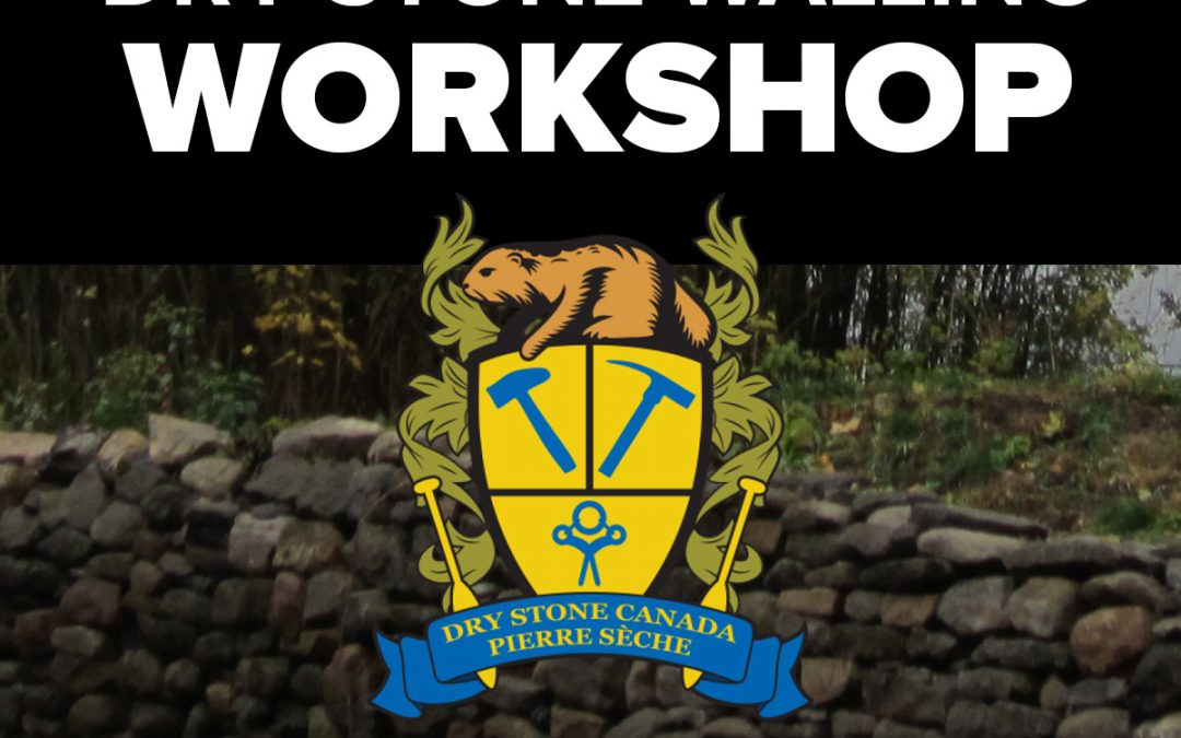 Retaining Wall Restoration Workshop – June 3 & 4